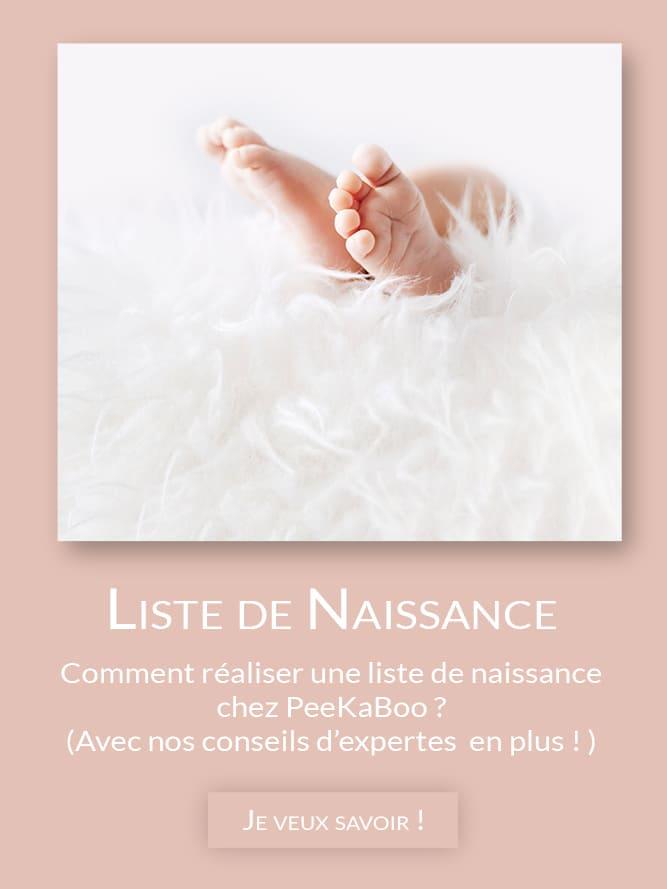 PeeKaBoo - magasin de jouets - liste de naissance